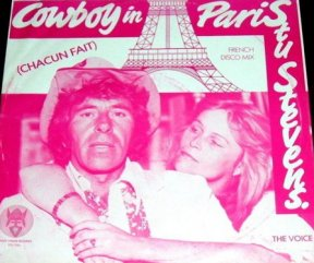 Stu Stevens The Voice Cowboy In Paris Chacun Fait